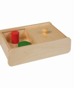 Box with sliding lid - Nienhuis Montessori