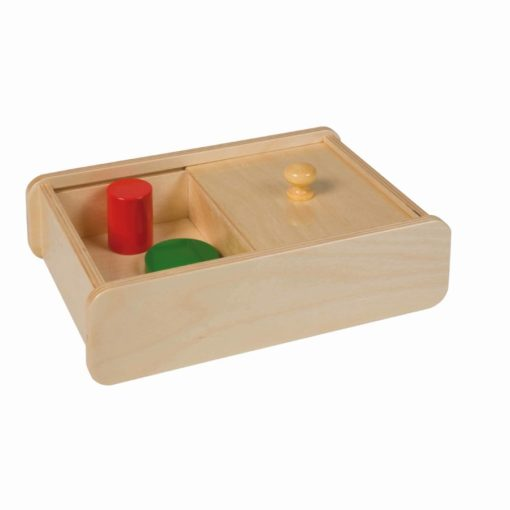Box with sliding lid - Nienhuis Montessori