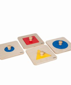 Single shape puzzle set_Nienhuis Montessori