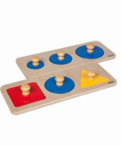 Multiple shape puzzle set_Nienhuis Montessori