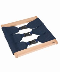 Infant / Toddler dressing frame: buckles_Nienhuis Montessori