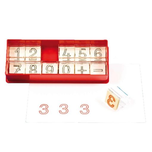 Rail number stamps - Educo