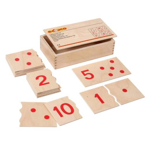Number puzzles 1 to 10 - Educo
