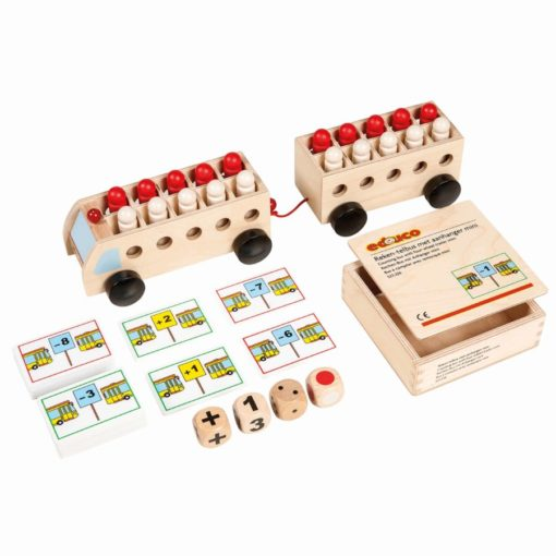 Counting bus with trailer: mini - Educo