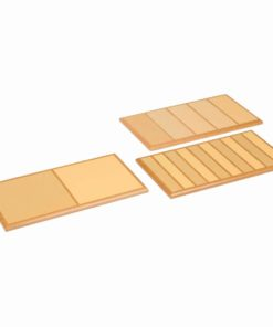 Rough and smooth boards set - Nienhuis Montessori