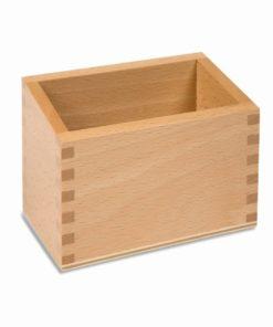 Sandpaper numerals box - Nienhuis Montessori