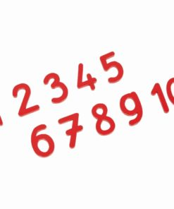Cut-out numerals: international version - Nienhuis Montessori