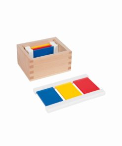 First box of color tablets - Nienhuis Montessori