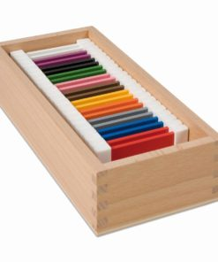 Second box of color tablets - Nienhuis Montessori