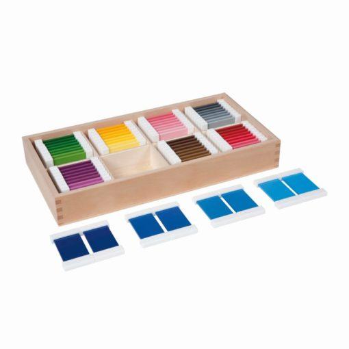 Boite des couleurs supplémentaire, 32 paires - Nienhuis Montessori