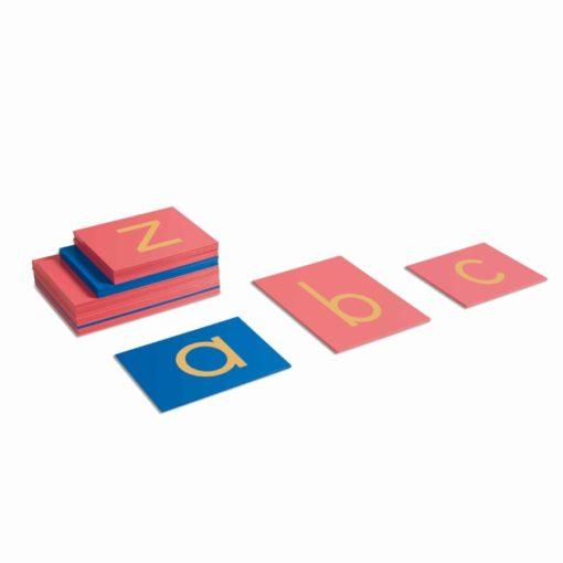 Sandpaper letters: international print - Nienhuis Montessori