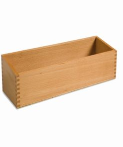Double sandpaper letters box - Nienhuis Montessori