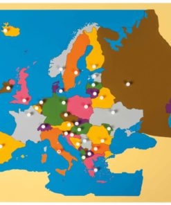 Puzzle map: Europe - Nienhuis Montessori