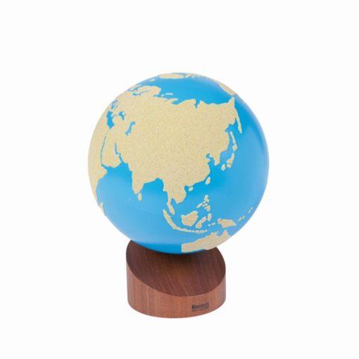 Globe rugueux des terres et mers  - Nienhuis Montessori