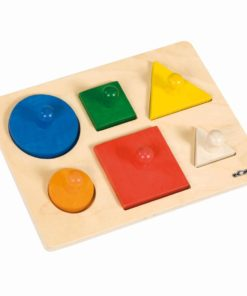 Shape sorting puzzle - Educo
