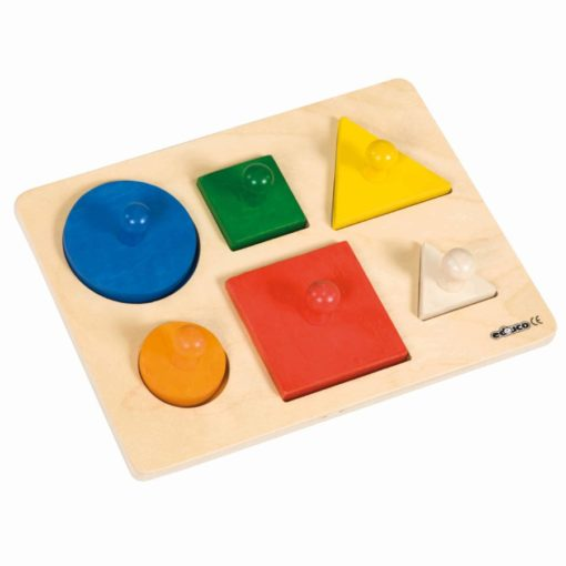 Shape sorting puzzle - Educo