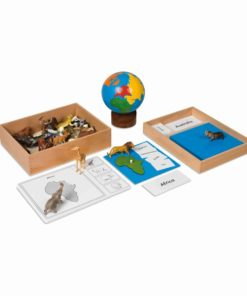 The animal continent box - Nienhuis Montessori