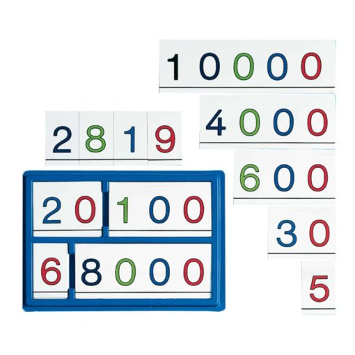 Place value cards - Jegro