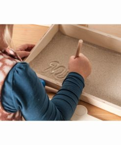Sand writing - Educo