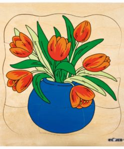 Growth/Life cycle puzzle tulip - Educo