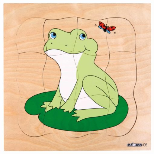 Growth/life cycle puzzle frog - Educo