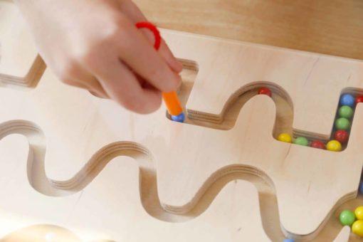 Motor skills board: writing patterns 1 - Educo
