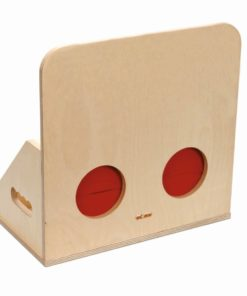 Tactile box wood - Educo