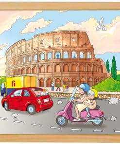 Wonders of the world puzzle: Colosseum - Educo