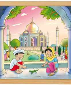 Wonders of the world puzzle: Taj Mahal - Educo