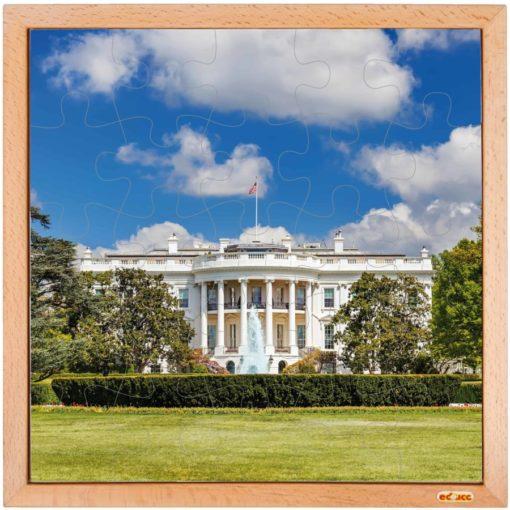 USA puzzle: the White House - Educo