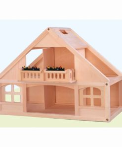 Dolls house wood - Educo