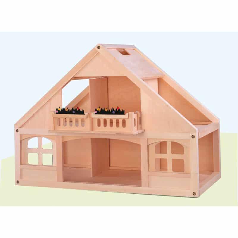 Dolls house wood - Educo