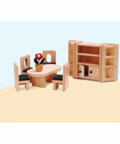 Dolls house furniture: dining room - Educo