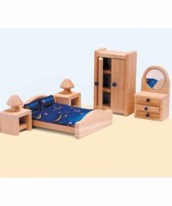 Dolls house furniture: master bedroom - Educo