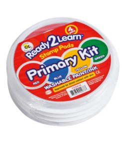 Jumbo washable paint/ink stamp pad: primary kit - Arts & Crafts