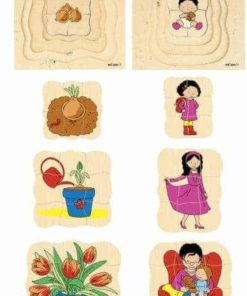 Growth/Life cycle puzzles Educo