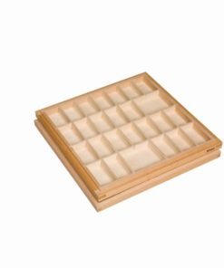 Montessori language material Small movable alphabet box - Nienhuis Montessori