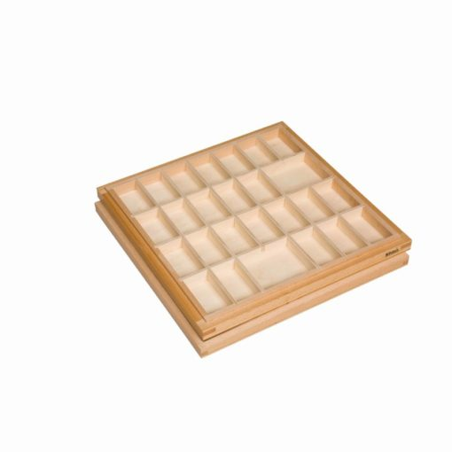 Small movable alphabet box - Nienhuis Montessori