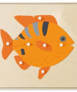 Animal puzzle: fish - Nienhuis Montessori