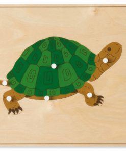Animal puzzle: turtle - Nienhuis Montessori