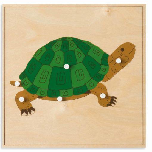 Animal puzzle: turtle - Nienhuis Montessori