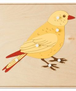 Animal puzzle: bird - Nienhuis Montessori