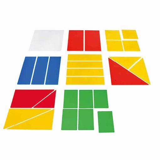Fraction set square pupils - Jegro