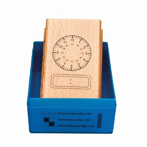 Clock stamp analogue-digital 24 hours - Jegro
