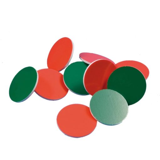 Jetons a compter : rouge/vert - Jegro