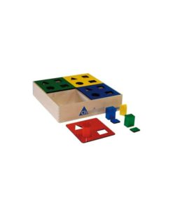 Wooden shape sorter - Educo