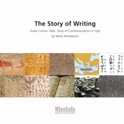 Booklet: The story of writing - Nienhuis Montessori