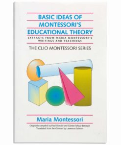Book: Basic ideas of Montessori's educational theory - Clio