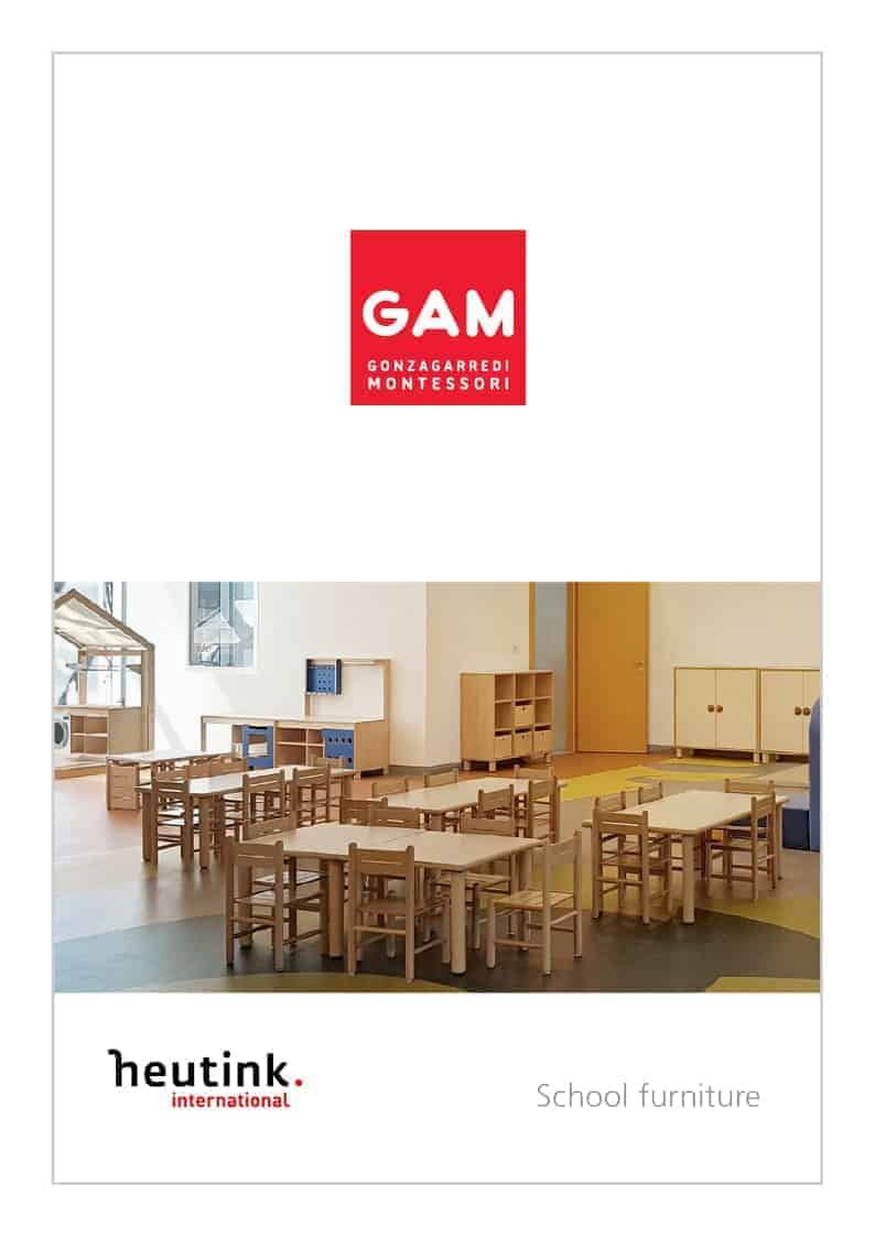 Cover Gonzagarredi School Furniture Catalogue - 2019