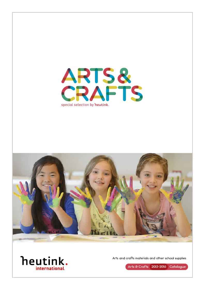 Cover catalogue Arts & Crafts 2015_2016